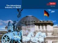 The Advertising Industry in Berlin - Berlin Business Location Center