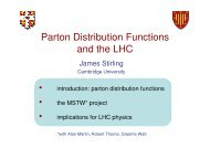 Parton Distribution Functions and the LHC