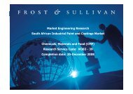 M383 - Growth Consulting - Frost & Sullivan
