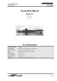 Type II U-boat Short - 040510 - World War Two Ships