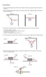Force and Free Body Diagram Practice Questions - The Burns Home ...