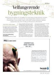 DR Byen - Velfungerende bygningsteknik - Artikel HVAC ... - Grontmij