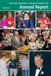 Annual Report - Holyoke Community College
