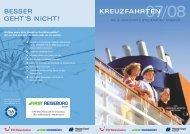 BESSER GEHT'S NICHT! KREUZFAHRTEN - FIRST Reisebüro Esser