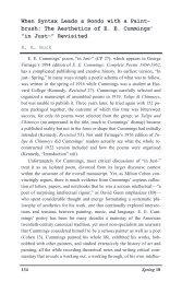 "The Aesthetics of EE Cummings' ""in Just-"" - Gvsu"