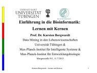 10. Lernen mit Kernen - Universität Tübingen