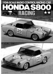 Page 1 Page 2 Page 3 3 58175 HONDA S800 HACiNG Page 4 Petit ...