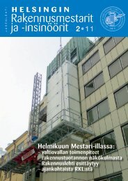 Yhdistyksen jäsenlehti 2/11, PDF tiedosto - Helsingin ...