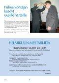 Yhdistyksen jäsenlehti 2/11, PDF tiedosto - Helsingin ... - Page 3