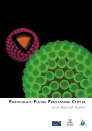 2002 Annual Report - Particulate Fluids Processing Centre