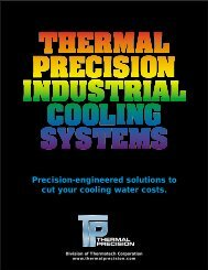 Thermal Precision Cooling Systems - Product Overview - Fluid Energy