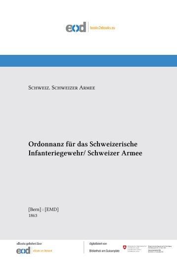 Schweizer Armee - admin.ch