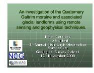 Access presentation here (22 meg) - Geological Survey of Ireland