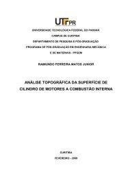 JUNIOR, Raimundo Ferreira Matos.pdf - PPGEM - UTFPR
