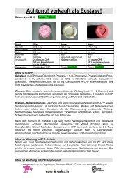 m-CPP+Coffein+Amphetamin - Saferparty.ch