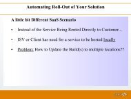 Automating Roll-Out of Your Solution - Servoy