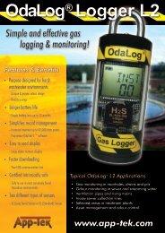OdaLog® Logger L2 - Apc.co.nz