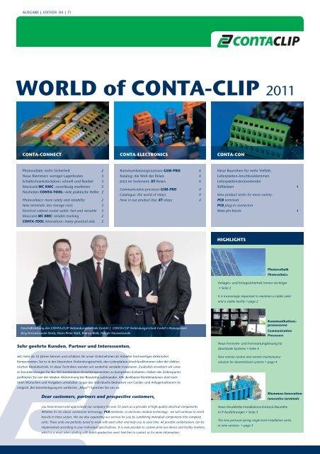 WORLD of CONTA-CLIP 2011