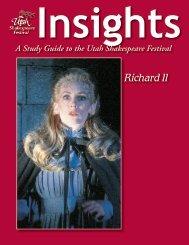 Insights Study Guide (PDF) - Utah Shakespearean Festival