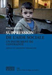 SUPPRESSION DE L'AIDE SOCIALE