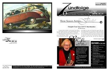 inally! - Central Ohio Vintage Volkswagen Club