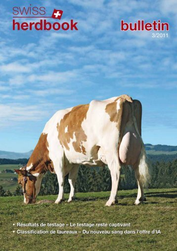 swissherdbook bulletin 3-2011-1-f
