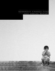 2007 Annual Report - Nonprofit Finance Fund