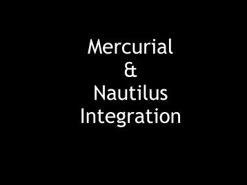 Mercurial & Nautilus Integration