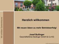 Herzlich willkommen - Bullinger Gartengestaltung