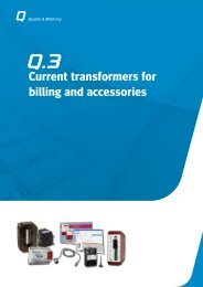 Current transformers for billing and accessories - Circutor