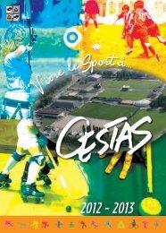 Vivre le sport - Mairie de Cestas