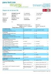 EN Rapport de test OMEGA 8 27 - Advance