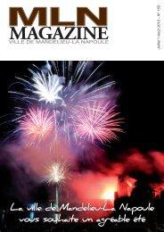 MLN Magazine de juillet-août 2012 - Mandelieu La Napoule