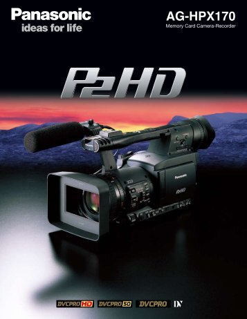 aG-HPX170 - Audio Video Rental Equipment Phoenix, AZ