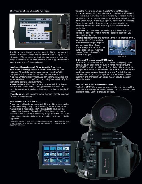 Production Quality DVCPRO