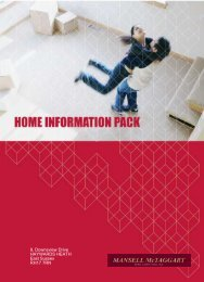 Home Information Pack Index - Email Details to a Friend