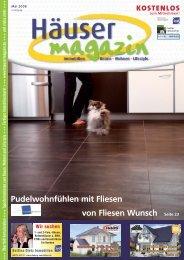 Pudelwohnfühlen mit Fliesen von Fliesen Wunsch ... - Häusermagazin