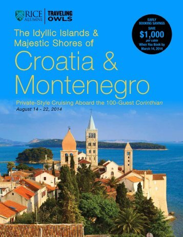 Croatia and Montenegro - Association of Rice Alumni