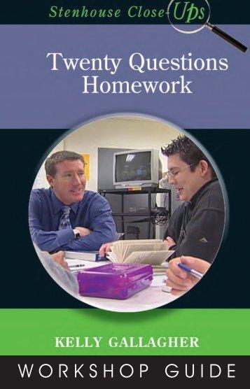 WORKSHOP GUIDE - Stenhouse Publishers