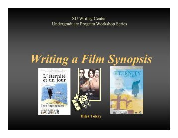 Film synopsis writing service