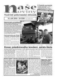 Cena výtisku 7 Kč - naše noviny archiv