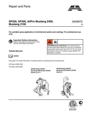Airlessco Lp 690 manual