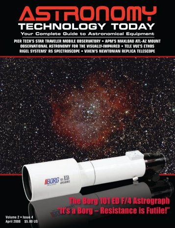 Cover Pages Issue 11:1 - Astronomy Technology Today