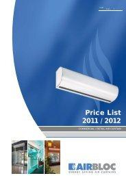 Airbloc Price list.indd - Ambirad