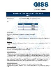 840007 FT GISS Gants G DRIVER CRUST Fleur et Croute de bovin