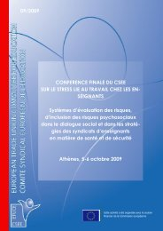Lire le rapport - Teachers' Occupational Safety and Health Website