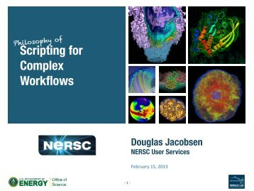Scripting for Complex Workflows - NERSC