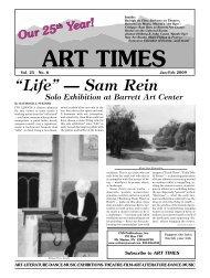 """Life"" — Sam Rein - Art Times"