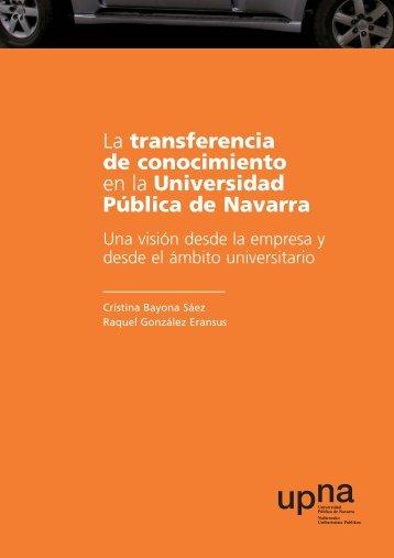 TRANSFERENCIA QXP 6.0 - Universidad Pública de Navarra