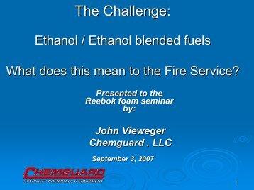 Ethanol/Ethanol Blended Fuels
